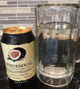 Passion Fruit Cider from Rekorderlig brewing