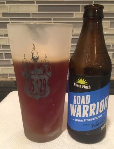 Road Warrior Imperial Rye IPA by Green Flash Brewing Co