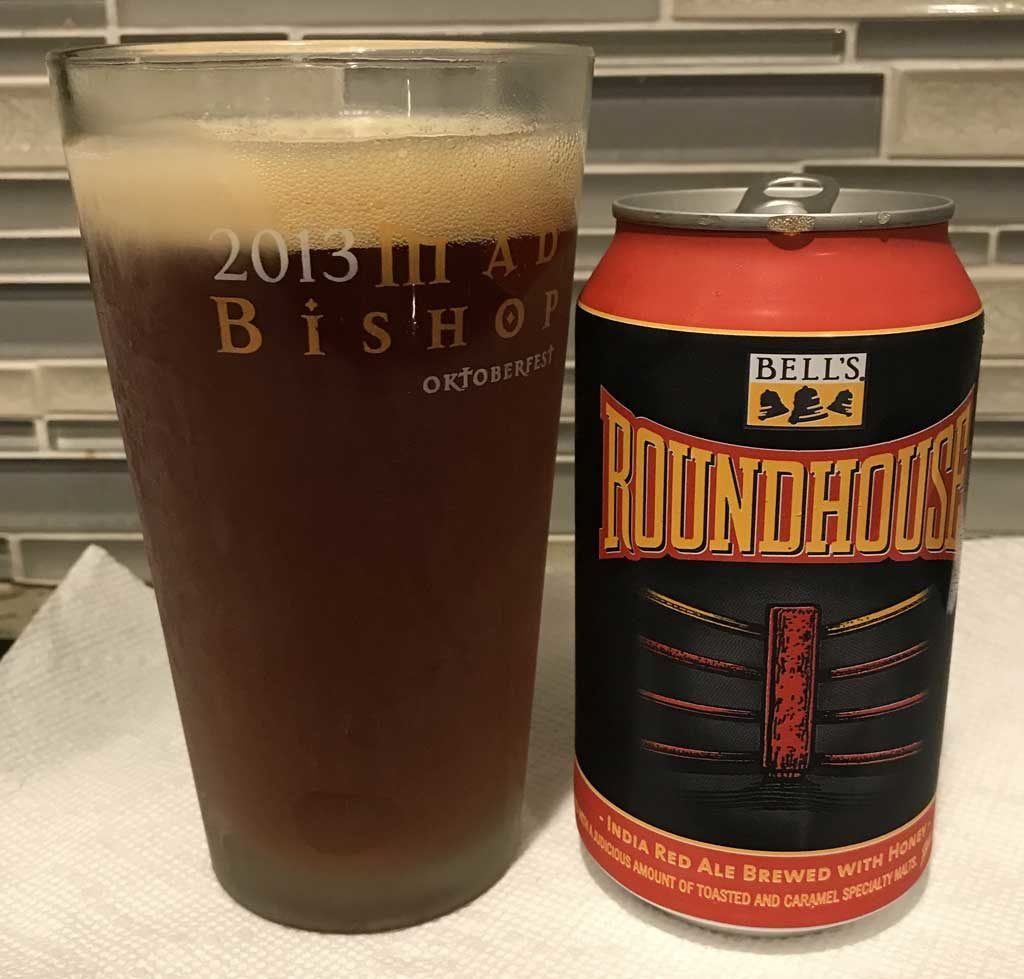 Roundhouse Red IPA by Bell's